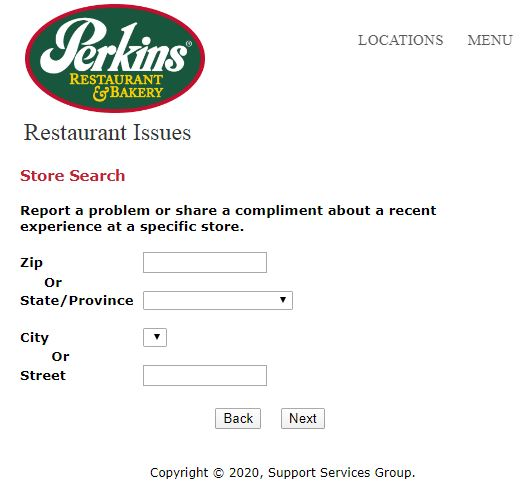 Perkins Experience Survey