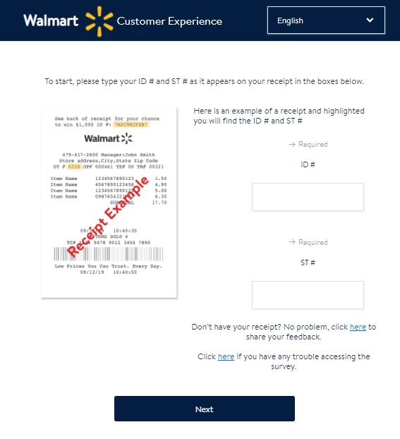 www.survey.walmart.com