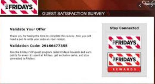 tgi friday survey