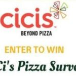 CicisVisit.com – Cici's Pizza Receipt Survey to Win $500 Gift Card