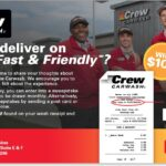 Crew Carwash Guest Satisfaction Survey