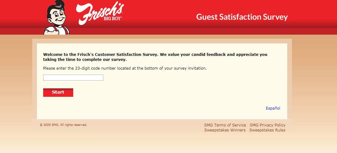 MyFrischsVisit survey