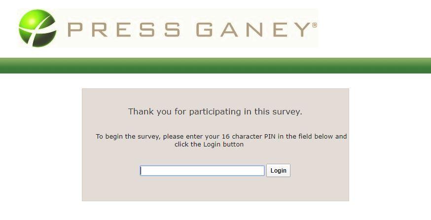 Press Ganey Survey