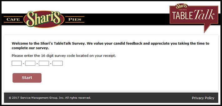 Sharis Survey