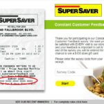 Super Saver Customer Feedback Survey – WIN $100