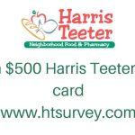 HTsurvey.com – Harris Teeter Customer Satisfaction Survey 2019