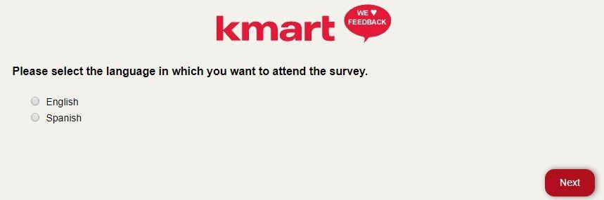 kmart survey