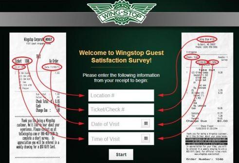 Wingstop Opinion Survey