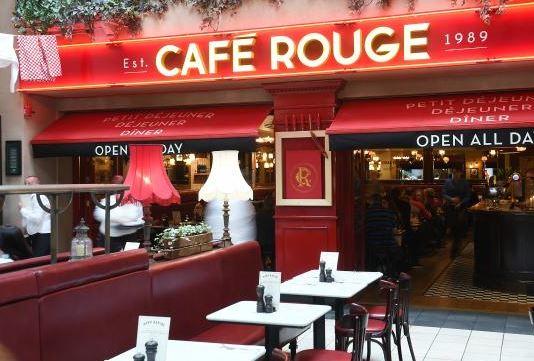 Cafe Rouge Guest Feedback Survey