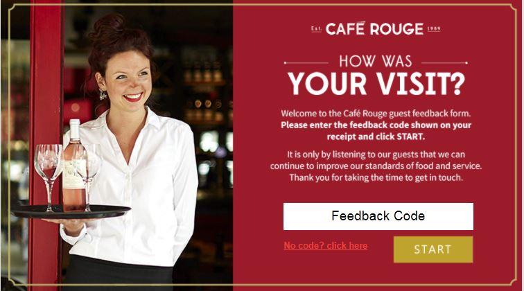Cafe Rouge Survey