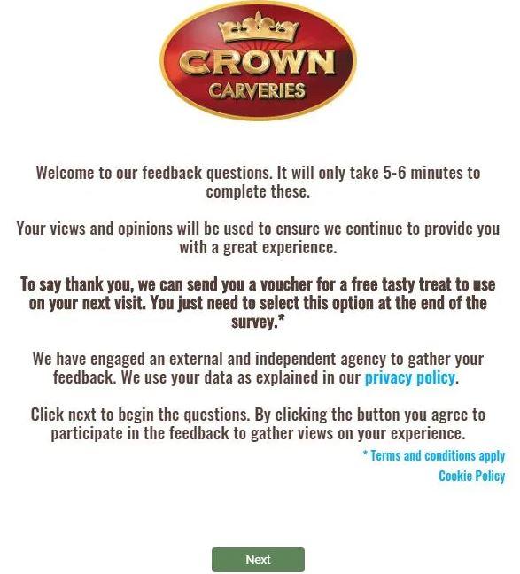 www.crowncarveries-survey.co.uk