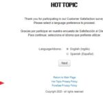 Hot Topic Survey – Win a Surprise Gift