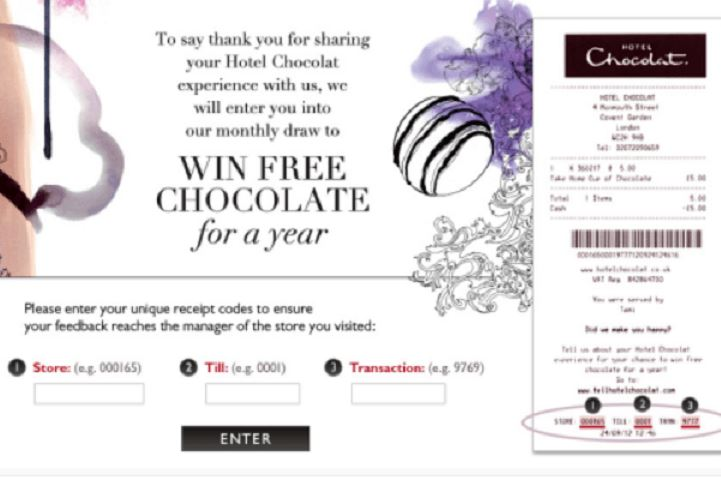 Hotel Chocolat Guest Experience Survey