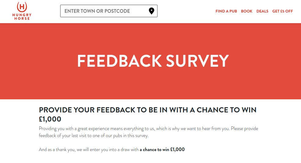 Hungry Horse Survey