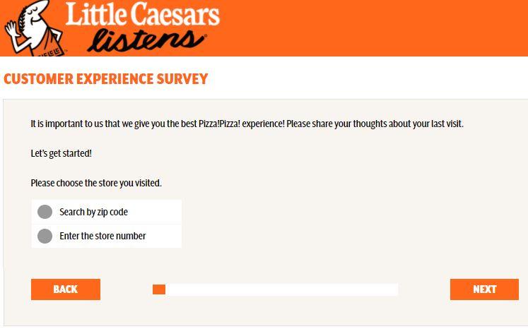 Little Caesars Guest Experience Survey