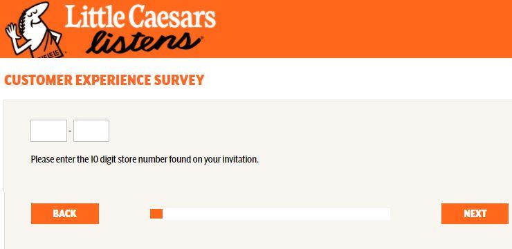 Little Caesars Experience Survey