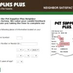 Pet Supplies Plus Neighbor Satisfaction Survey