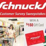 Schnucks Survey @ www.TellSchnucks.com – Win $300 Gift Card