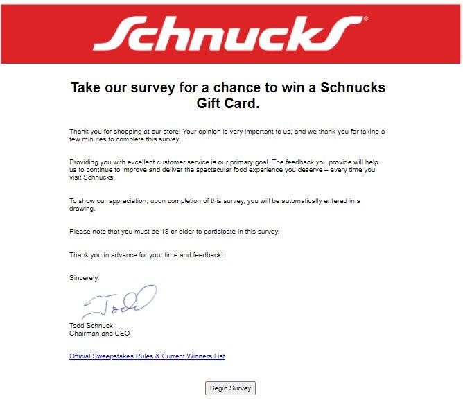 www.schnucks.pleaserateus.com