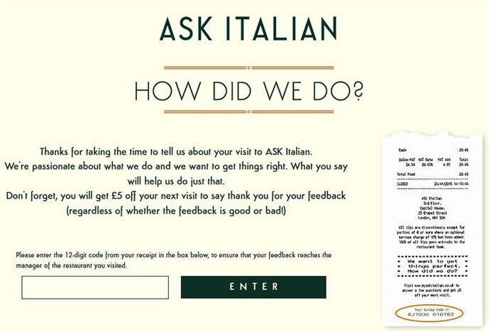 Ask Italian Survey