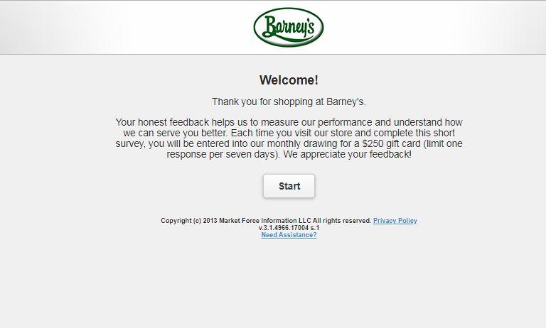 www.BarneysFeedback.com