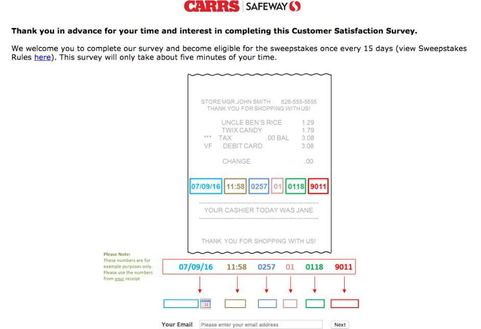 www.carrssurvey.net