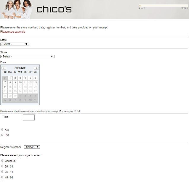 Chico's Store Customer Survey