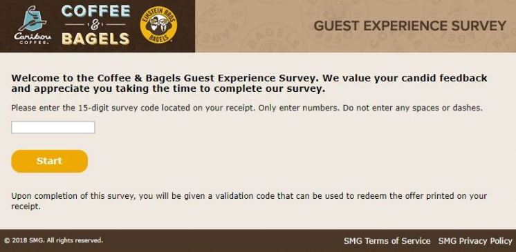 Coffee and Bagels Survey