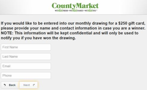 County Market Survey