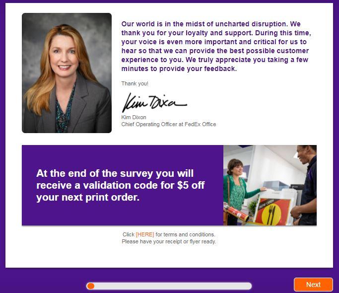 FedEx Guest Experience Survey