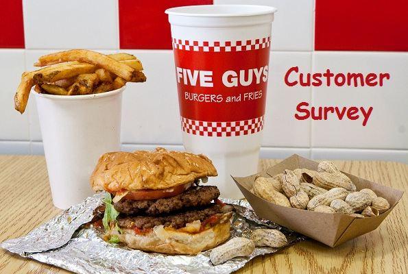 Five Guys Customer Opinion Survey
