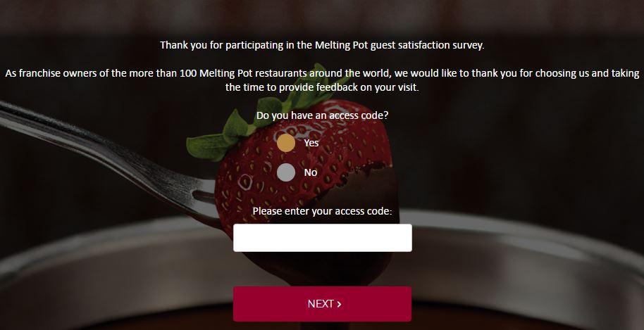 Melting Pot Guest Feedback Survey