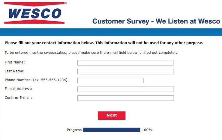 Go Wesco Survey