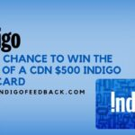 www.IndigoFeedback.com ― Indigo® Feedback Survey – WIN $500!