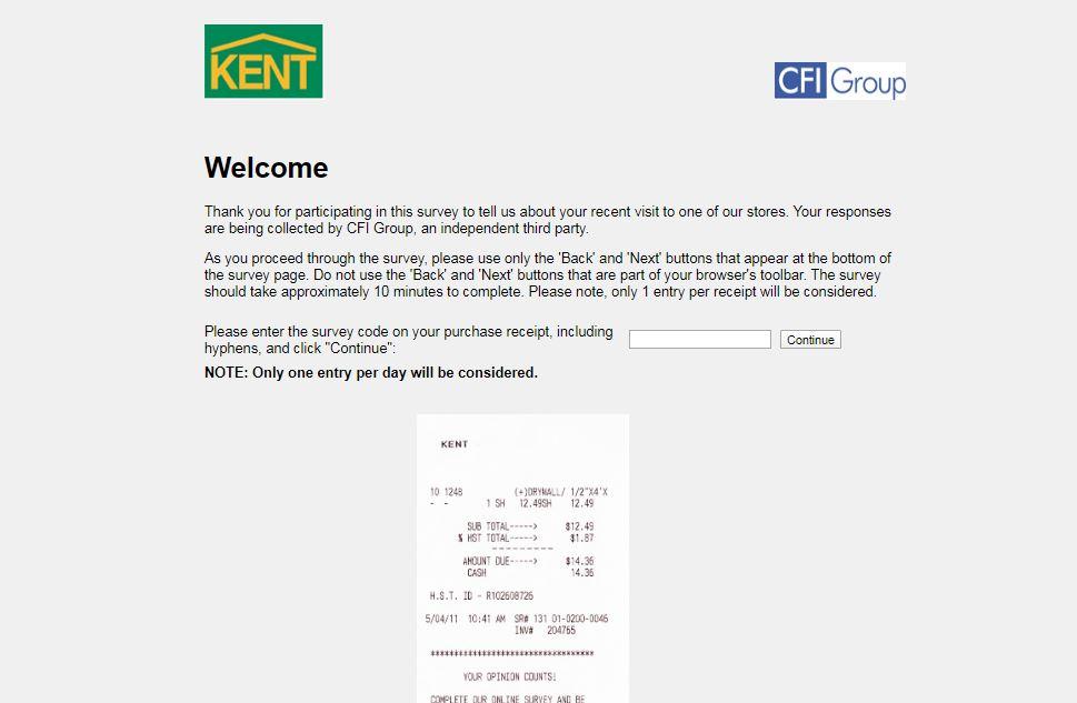Kent Guest Experience Survey