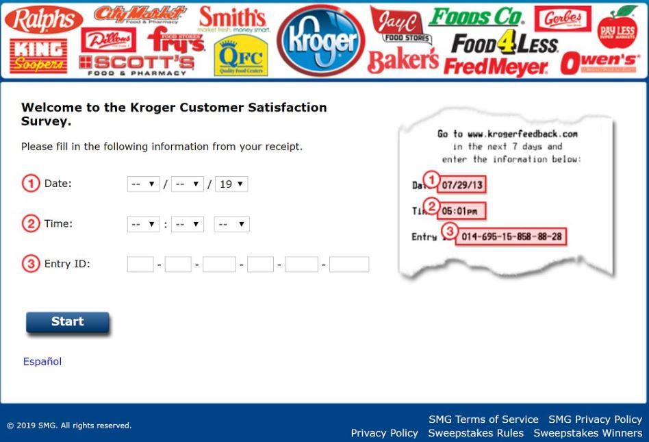 King Soopers Survey