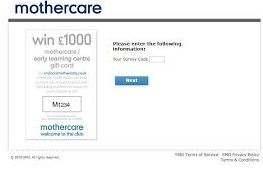 Mothercare Survey