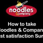 Noodles Guest Satisfaction Survey
