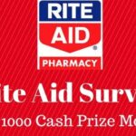Rite Aid Store Survey to Win $1,000 / $100!