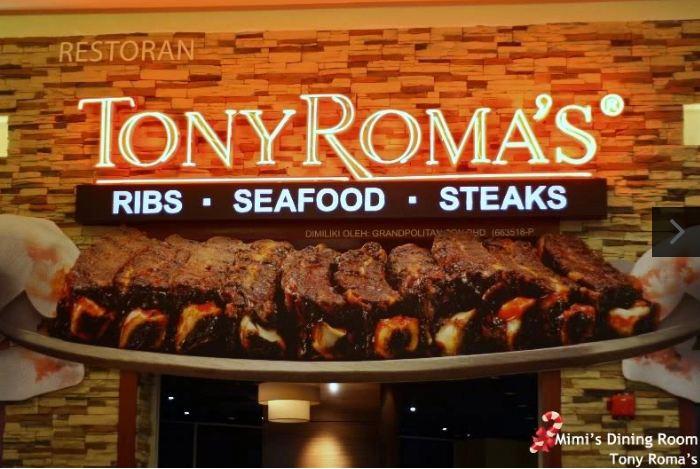 Tony Roma's Guest Experience Survey