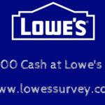 Lowes.com/Survey ― Lowes Guest Satisfaction Survey