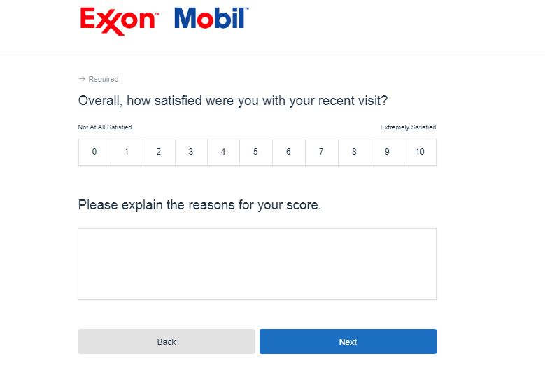 ExxonMobil Survey