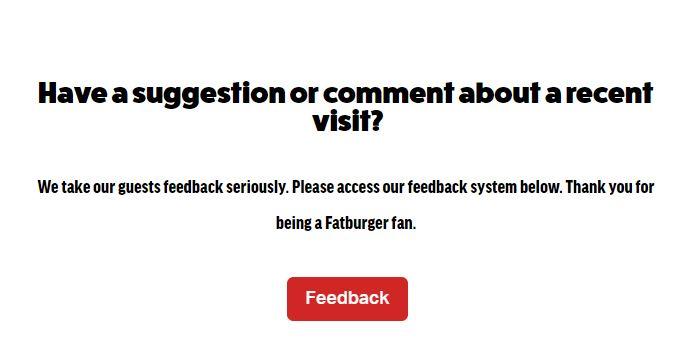Fatburger Survey