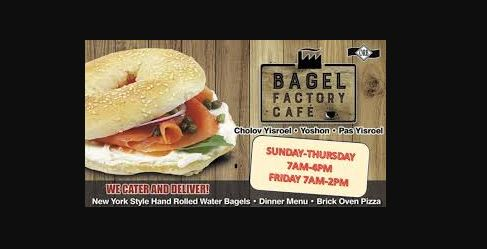 Bagel Factory Survey