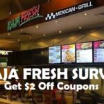 Baja Fresh Survey at www.bajafreshsurvey.com | Win a Surprise Gift