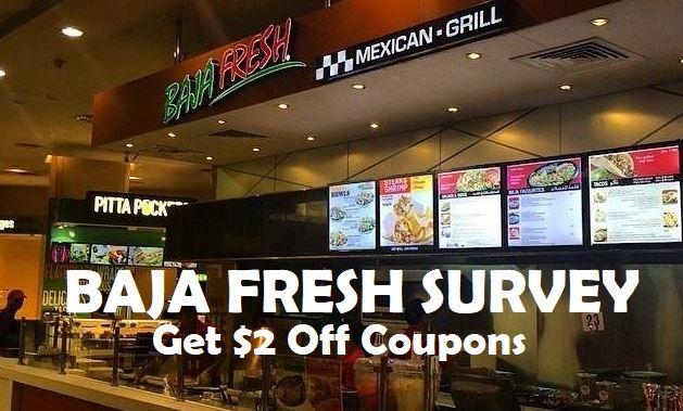 Baja Fresh Survey