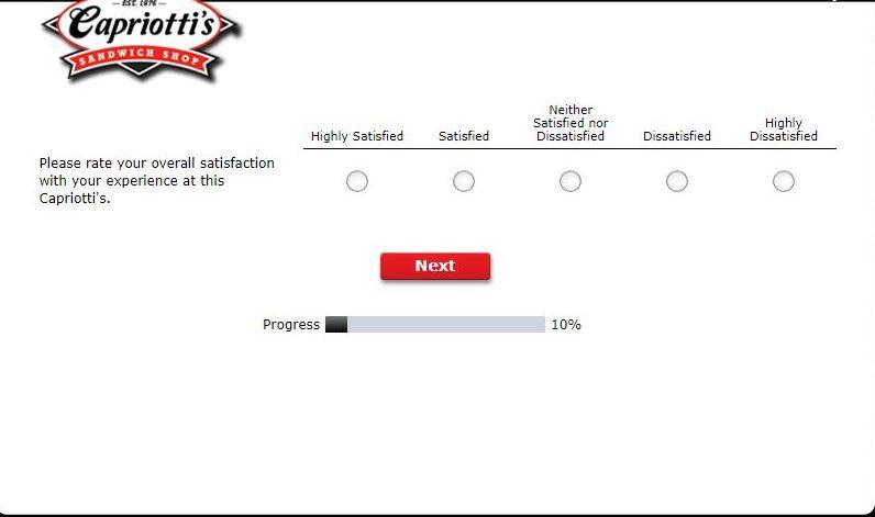 Capriottis Survey
