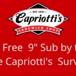 Capriotti's Customer Satisfaction Survey At TellCapriottis.com 2019