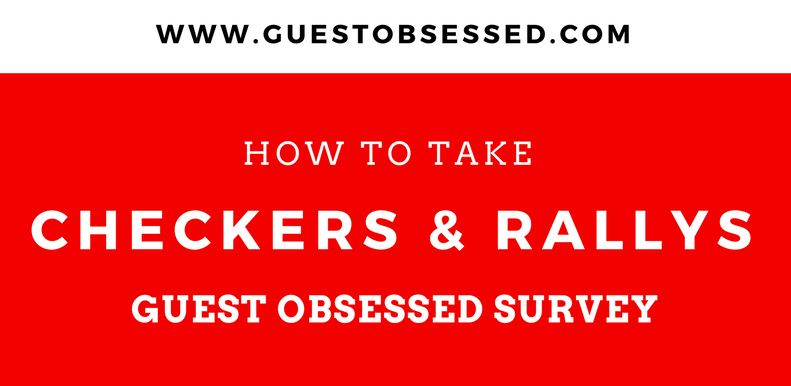 Checkers and Rallys Survey
