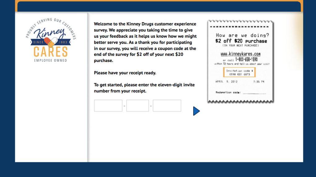 Kinney Drugs Survey